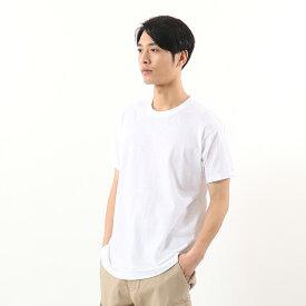 【公式】ヘインズ Hanes【3枚組】アオラベルクルーネックTシャツ 青パック ヘインズ(HM2115G)