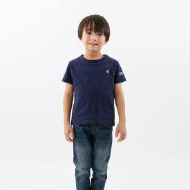 【公式】チャンピオン Champion キッズ ショートスリーブTシャツ 21SS 【春夏新作】ベーシック(CK-T301)