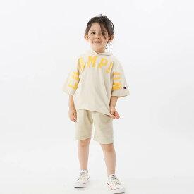【公式】チャンピオン Champion キッズ ショートスリーブフーデッドTシャツ 21SS 【春夏新作】キャンパス(CK-T327)