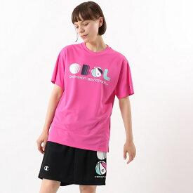 【公式】チャンピオン ウィメンズ プラクティスTシャツ 20SS【春夏新作】E-MOTION(CW-RB313)