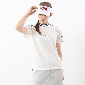 【公式】チャンピオン Champion ウィメンズ ゴルフ モックネックシャツ 20SS 【春夏新作】GOLF(CW-RG312)