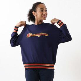 【公式】チャンピオン Champion ウィメンズ クルーネックスウェットシャツ 20SS 【春夏新作】スポーツ(CW-RS002)