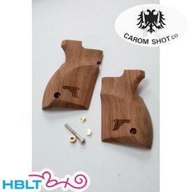 キャロムショット 木製グリップ 東京マルイ デザートイーグル 用 イーグルマーク入 /CAROM SHOT DE カスタム