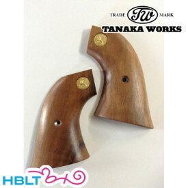 タナカワークス 木製グリップ Colt SAA .45(2nd Gen.) 用 ウォールナット メダル入 /タナカ tanaka ピースメーカー S.A.A ウエスタン Western 開拓時代 西部劇 Peace Maker シングル・アクション・アーミー