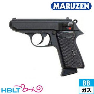 マルゼン Walther PPK/S Black ガスブローバックガン /ガス エアガン MZ ワルサー サバゲー 銃