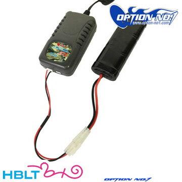 オプション No.1 AC 急速充電器 リポ GCH0002V2 /OPTION リポバッテリー LiPo Li-Po 充電器 サバゲー