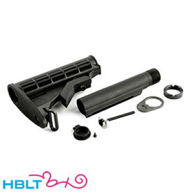 VFC ベガフォース ストックセット 電動 M4 用 Colt 標準型タイプ Black /カスタムパーツ VEGA Force company GB-TECH STK-M4ESET-BK-01