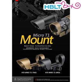VFC ベガフォース マウント Micro T1 Mount BK /カスタムパーツ VEGA Force company GB-TECH MWS-T1-BK01 サバゲー