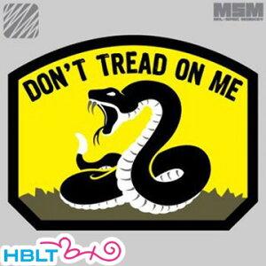 パッチ MSM ミルスペックモンキー Don't Tread(刺繍) /ベルクロ パッチ ワッペン ミリタリー サバゲ 装備 MIL-SPEC MONKEY サバゲー