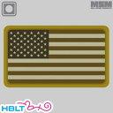 【MSM(ミルスペックモンキー)】パッチ US Flag(PVC)/MIL-SPEC MONKEY/ベルクロ/パッチ/ワッペン/アメリカ/国旗/サバゲ/装備