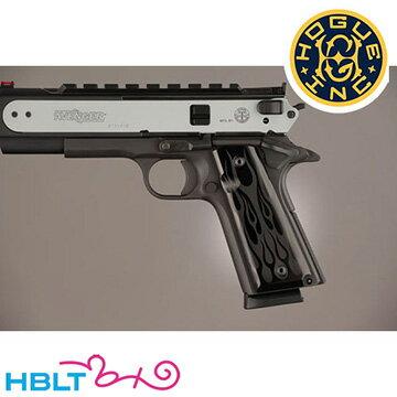 【Hogue】アルミグリップColtGM45(フレア/ブラック)|45130