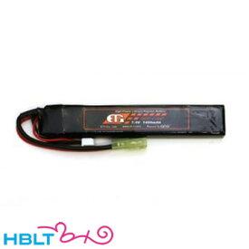 ET1 リポバッテリー LiPo 7.4v 1400 mAh レッドライン スティック ストック ETR214 /リポ Li-Po バッテリー ET-1 AKタイプ サバゲー
