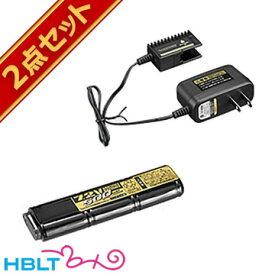 東京マルイ ニッケル水素 7.2V マイクロ500 バッテリー + NEW専用 充電器 セット /No16 No28 ニッスイ 電動ハンドガン 電動コンパクトマシンガン サバゲー