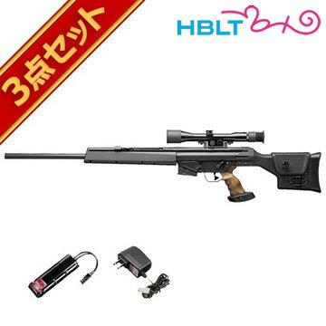 フルセット 東京マルイ H&K PSG-1 電動ガン バッテリー 充電器セット /電動 エアガン PSG1 HK サバゲー 銃