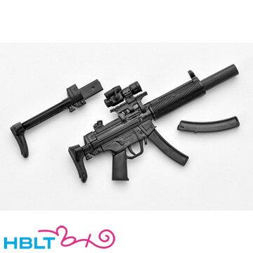 リトルアーモリー LittleArmory MP5SD6タイプ(1/12 無彩色) LA026 TOMYTECHトミーテック