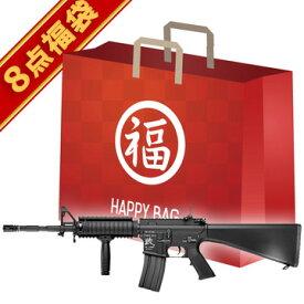 2019 福袋 スタンダード電動ガン セット! SR-16 東京マルイ /電動 エアガン KNIGHTS SR16 フルセット サバゲー 銃