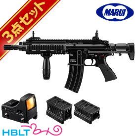 東京マルイ H&K HK416C ドットサイト セット ( 次世代電動ガン + マイクロプロサイト + マウント) /電動 エアガン HK ダットサイト フルセット サバゲー 銃