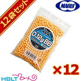 東京マルイ BB弾 0.12g 袋入(約1000発 オレンジ)12袋セット /サバゲー