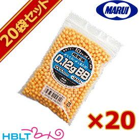 東京マルイ BB弾 0.12g 袋入(約1000発 オレンジ)20袋セット /サバゲー