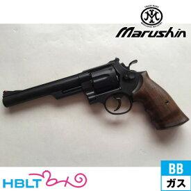 マルシン S&W M29 Xカート仕様 木製グリップ付 ABS ブラック 6.5インチ(ガスガン/リボルバー本体 6mm) /SW Smith & Wesson Nフレーム ガス エアガン サバゲー
