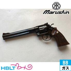 マルシン S&W M29 クラシック Xカート仕様 ハーフチェッカー木製グリップ付 ABS Wディープ ブラック 8_3/8 インチ(ガスガン リボルバー 本体 6mm) /SW Smith & Wesson Nフレーム