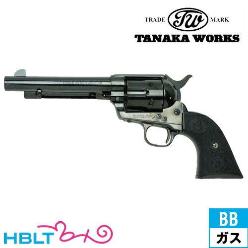タナカワークス Colt SAA.45(2nd Gen.) DetachableCylinder Steel Finish 5_1/2 Artillery(ガスガン リボルバー本体) /タナカ tanaka ピースメーカー S.A.A ウエスタン Peace Maker シングル アクション アーミー