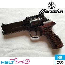マルシン マテバ Xカート仕様 最高級ブナ製木製グリップ ABS Wディープブラック 5インチ(ガスガン/リボルバー本体 6mm) /MATEBA
