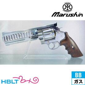 マルシン コルト コンストリクター Mk2 リアルXカート仕様 木製グリップ仕様 ブナ材 ABS シルバー(ガスガン リボルバー本体 6mm) /Colt Constrictor Real X-Cartridge