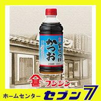 フジジン 家伝つゆ かつお (2倍濃厚) 500ml≪調味料 富士甚醤油≫