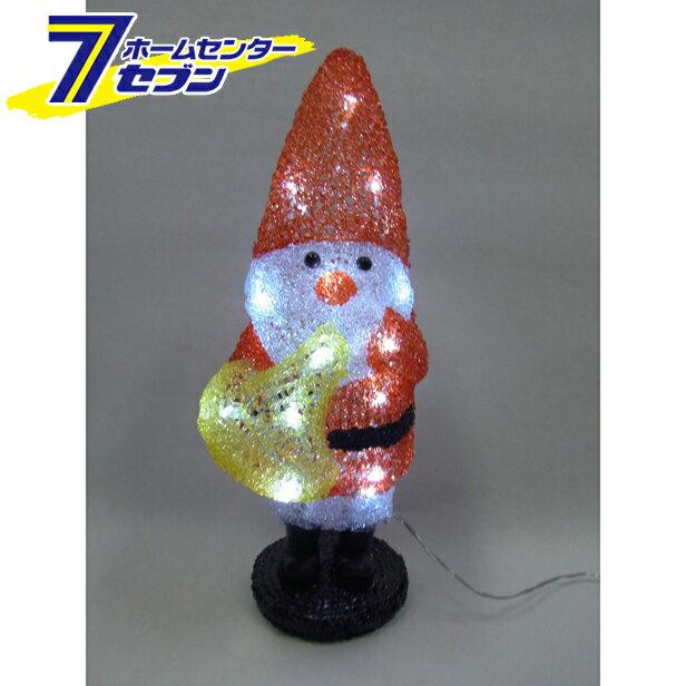 LED 3Dサンタモチーフ ホルンサンタ L3D802 白色LED  コロナ産業 [l3d802 イルミネーション ライト led クリスマス コロナライト]