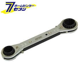 4サイズウォーブルラチェット SMR-1421W 藤原産業 [作業工具 スパナ ラチェットスパナ]