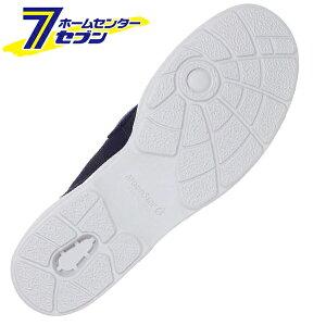 ムーンスターMS大人の上履き02スリッポンタイプ2Eネイビー22cm月星[日本製入院リハビリデイサービスシューズ靴]