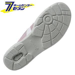 ムーンスターMS大人の上履き01スリッポンタイプ2Eラベンダー21.0cm月星[日本製入院リハビリデイサービスシューズ靴]