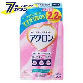 アクロン フローラルブーケの香り つめかえ用 大 900ml ライオン [洗濯洗剤 液体洗剤 詰め替え 衣類用]