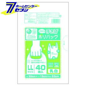 プラスプラスネオ手提げ LLサイズ 半透明 PP-NTPLL-40N オルディ [ポリ袋 ビニールバッグ 手提げ袋]