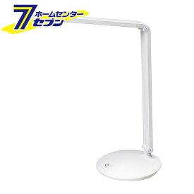 エルパ LEDデスクライト AS-LED07(W) ELPA [スタンドライト 調光 学習机 タッチセンサー]【キャッシュレス5%還元】【hc7】