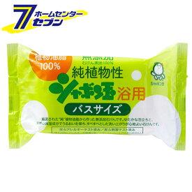 シャボン玉石けん 純植物性浴用バスサイズ 155g シャボン玉 [ボディ用石けん]【キャッシュレス5%還元】