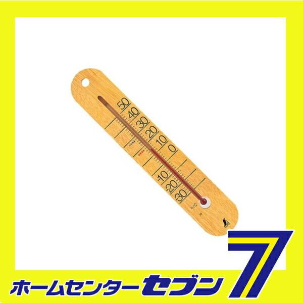 【ポイント5倍】木製温度計 M-023 48481 シンワ測定  [大工道具 測定具 クレセル 温度計]【ポイントUP:2018年8月23日am9時59まで】