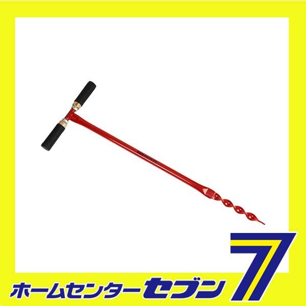支柱用穴掘リ機 25mm SGHD-25 藤原産業 [園芸道具 鍬]
