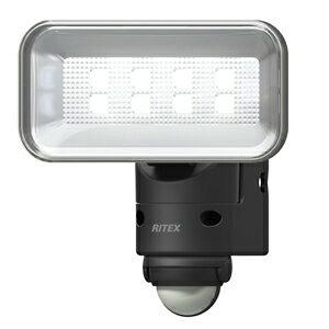 LEDセンサーライト 5W ワイド ACタイプ LED-AC105 ライテックス [屋外 led 100v 防雨 夜道 防犯 庭 足元 ]