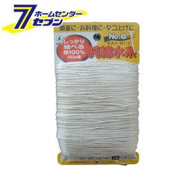 純綿水糸 100M巻 #4 たくみ [大工道具 墨つけ 基準出し 純綿水糸]