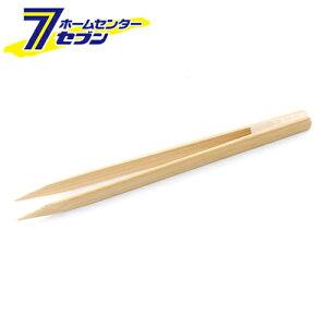 竹ピンセット 剣型 NO.21 藤原産業 [作業工具 半田ゴテ ピンセット]