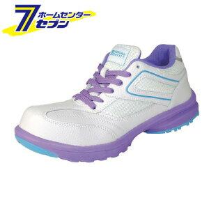 【ポイント10倍】LADY'S FIT メダリオン セーフティ ホワイト 23.5cm 丸五 [安全靴 レディース シューズ スニーカー 靴 作業靴 作業服 作業着 ワーク]【ポイントUP:2020年11月27日pm23:59まで】
