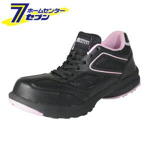 【ポイント10倍】LADY'S FIT メダリオン セーフティ ブラック 24.0cm 丸五 [安全靴 レディース シューズ スニーカー 靴 作業靴 作業服 作業着 ワーク]【ポイントUP:2020年11月27日pm23:59まで】