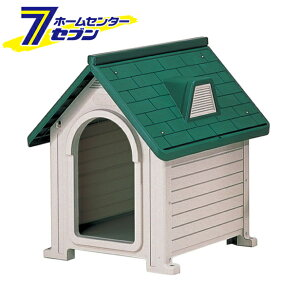 リッチェル ペットハウス DX-580 ダークグリーン [ドッグハウス 犬舎 超小型犬〜中型犬 屋外]