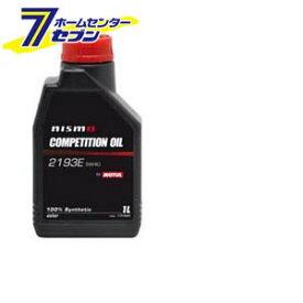 nismo(ニスモ) MOTUL製 COMPETITION OIL type 2193E 5W40 化学合成油 エンジンオイル 1L MOTUL [自動車 1リットル]