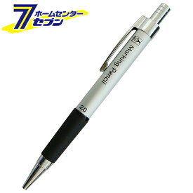 ノック式鉛筆 2.0 白 NO.7783 たくみ [大工道具 墨つけ 基準出し マーカー]
