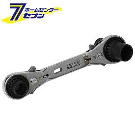 4サイズウォーブルラチェット SMR-0813DW 藤原産業 [作業工具 スパナ ラチェットスパナ]