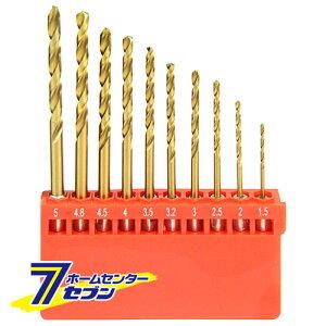 チタン鉄工ドリルセット ETDT-10HEX 藤原産業 [鉄 ステンレス アルミ 樹脂 木材 穴あけ]