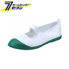 ムーンスター 上履き 上靴 カラーバレー 24.5cm グリーン 月星 [シューズ 日本製]
